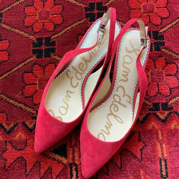 Sam Edelman Shoes | Women Red | Poshmark